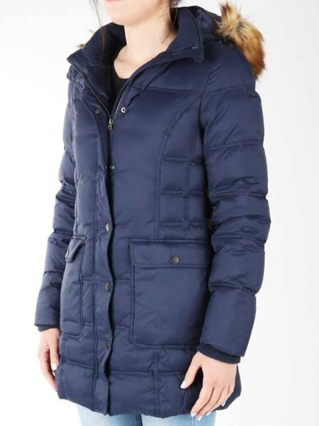 Jeans Wrangler Long Puffer Jacket 4090YW35