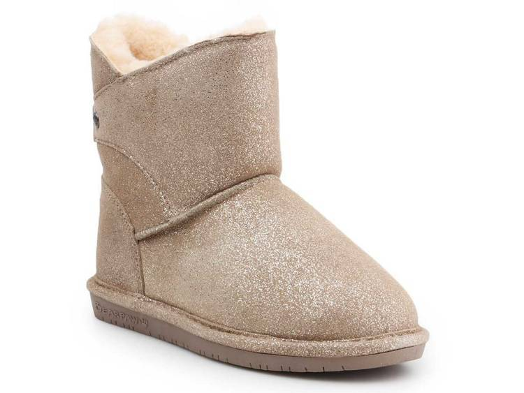 Shoes BearPaw Mia Youth 2062Y Pewter Distressed