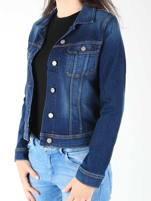 Jeans Jacket Lee Slim Rider L541HAIM
