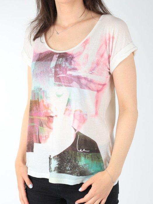 T-shirt Lee Night Cloud Dancer L485AUHA