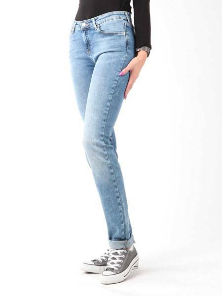 Jeanshose Wrangler Slim Best Blue W28LX794O