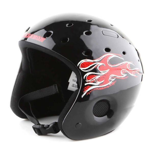 Skihelm Salomon Zoom JR Black 890-445-58