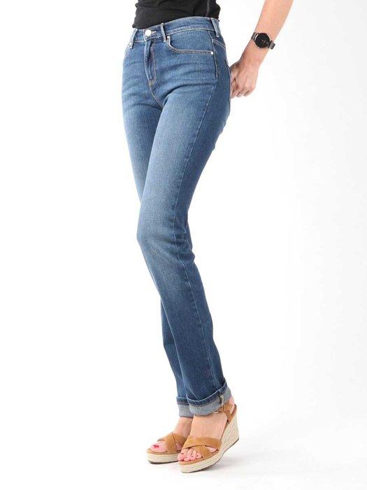 Jeanshose Wrangler High Slim W27GX785U