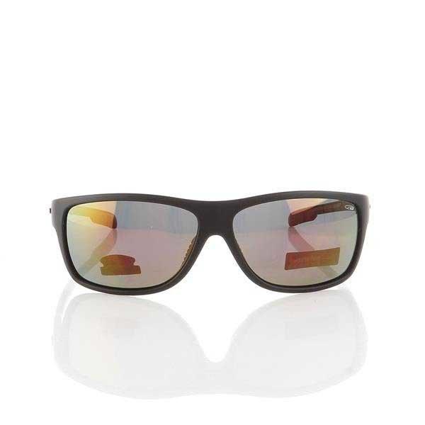 Okulary Przeciwsłoneczne Goggle Matt Black/Red E189-2P
