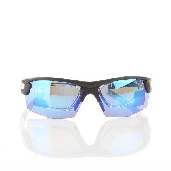 Okulary Przeciwsłoneczne Goggle Matt black/White E840-3R