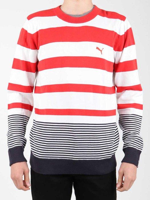 Pullover Puma Striped Sailing Sweater 554124-01