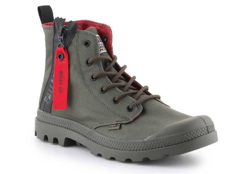 Lifestyle Schuhe Palladium Hi Organic Mood 96199 458 | Sklep
