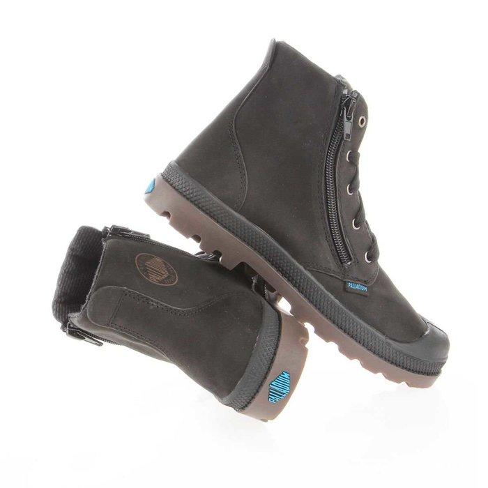 Buty dziecięce Palladium Pampa HI Lea Gusset 52744-057
