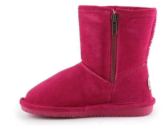 Buty zimowe Bearpaw Emma Toddler Zipper 608TZ-671 Pom Berry