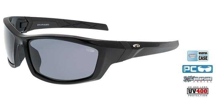 Goggle E111-1P black