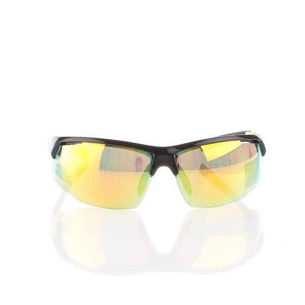 Okulary Przeciwsłoneczne Goggle Black/Green E866-5