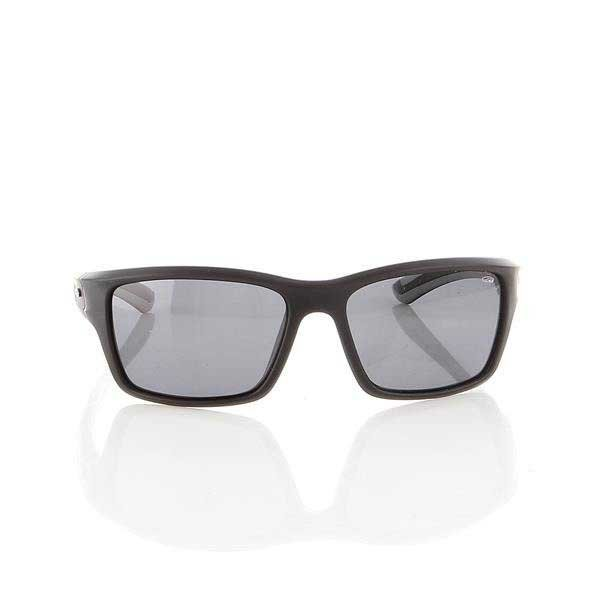Okulary Przeciwsłoneczne Goggle Matt black/Grey E106-2P