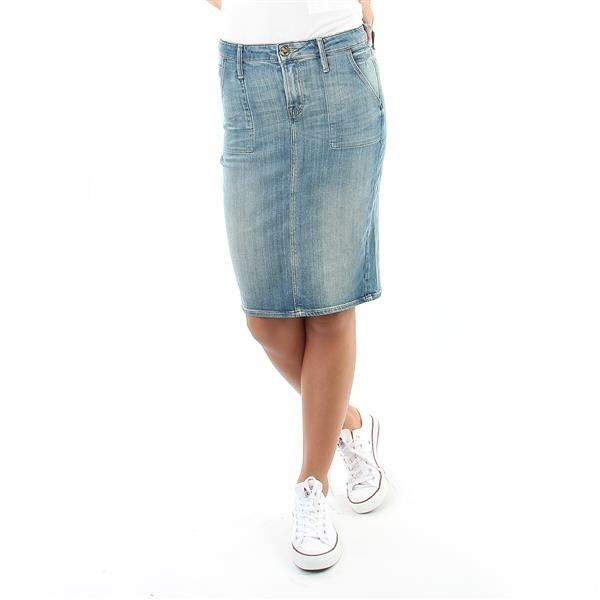Spódnica jeansowa Lee Skirt L38AALSD