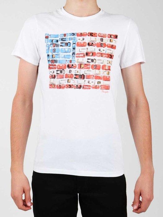 T-shirt Wrangler S/S Modern Flag Tee W7A45FK12